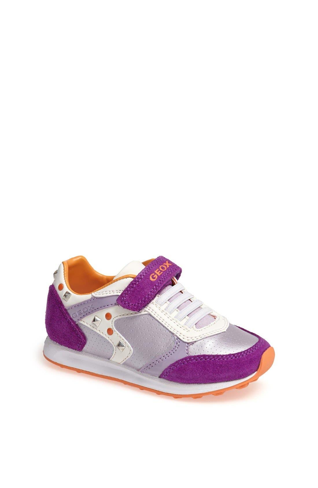 Main Image - Geox 'Elliot' Sneaker (Toddler & Little Kid)