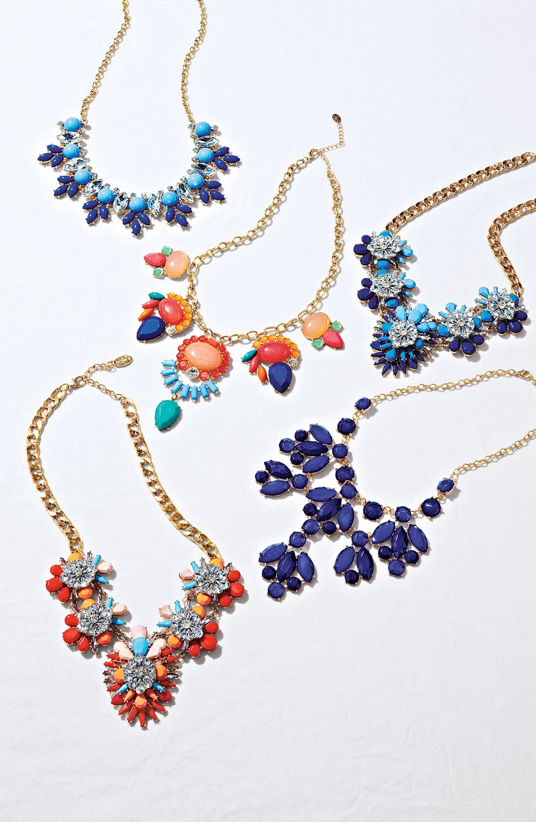 Alternate Image 2  - Cara Stone & Crystal Bib Necklace
