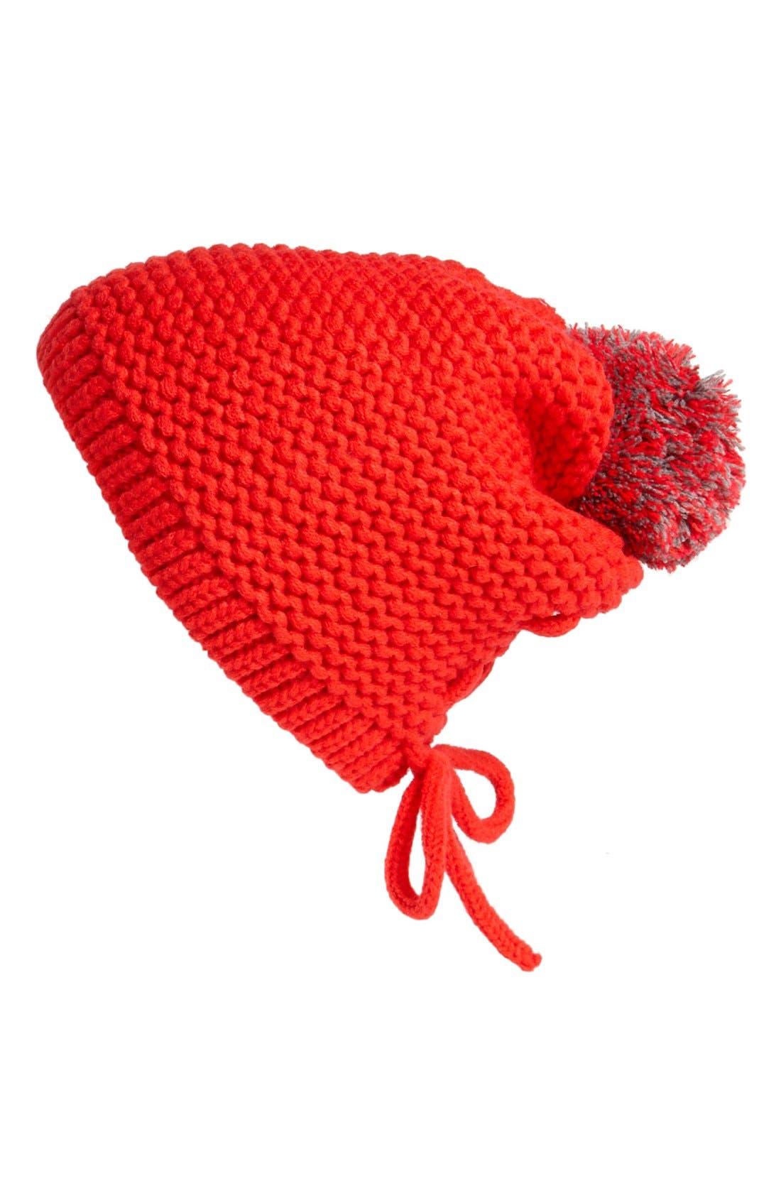 Alternate Image 1 Selected - Tildon Laced Back Pompom Hat