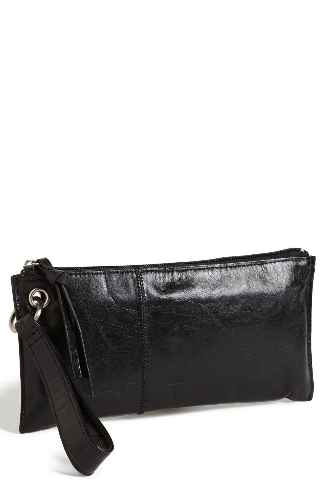Alternate Image 1 Selected - Hobo 'Vida' Leather Clutch