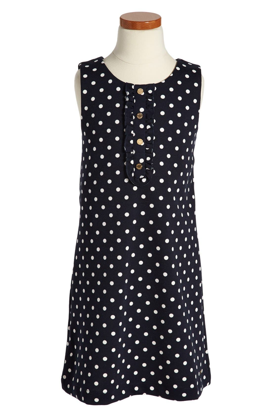 Alternate Image 1 Selected - Juicy Couture Sleeveless Dress (Toddler Girls, Little Girls & Big Girls)