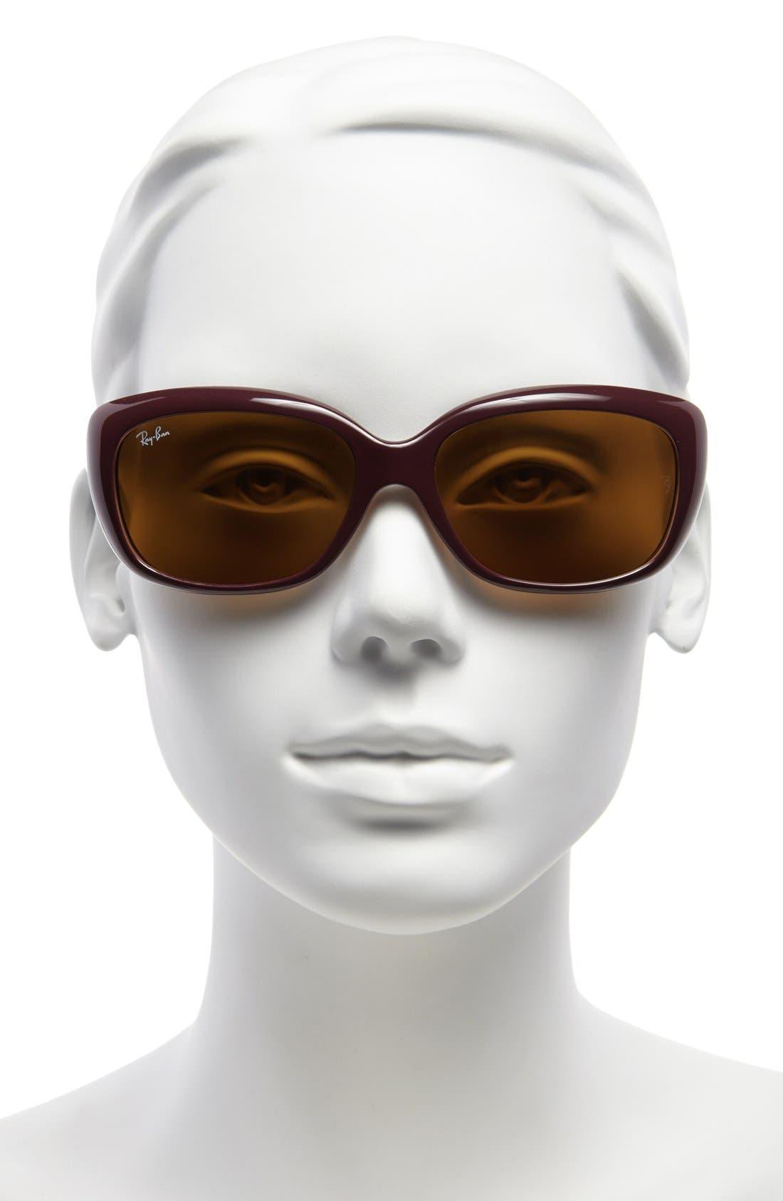 Alternate Image 2  - Ray-Ban 'Pilot' 58mm Sunglasses