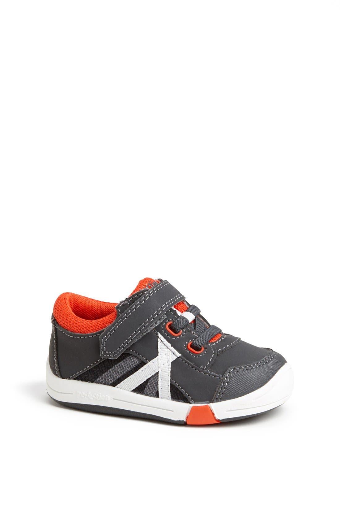 Alternate Image 1 Selected - Jumping Jacks 'Finish Line' Sneaker (Baby, Walker & Toddler)