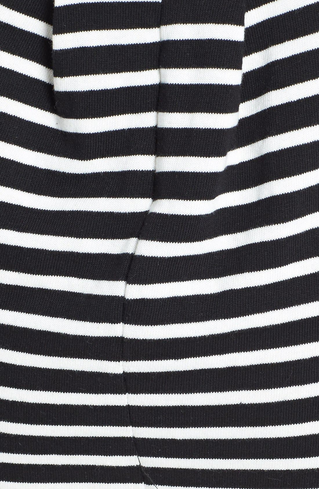 Alternate Image 4  - French Connection Cap Sleeve Stripe Dress