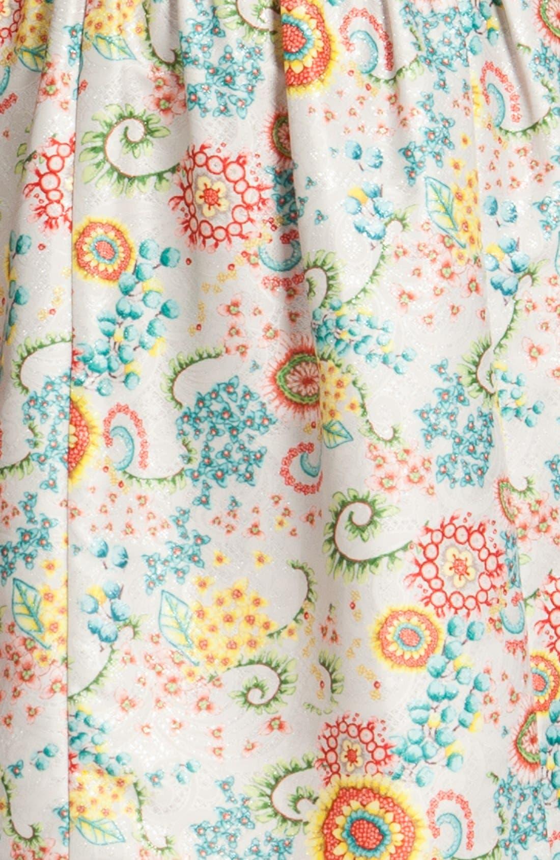 Alternate Image 4  - Cynthia Steffe 'Ashlynn' Print Fit & Flare Dress