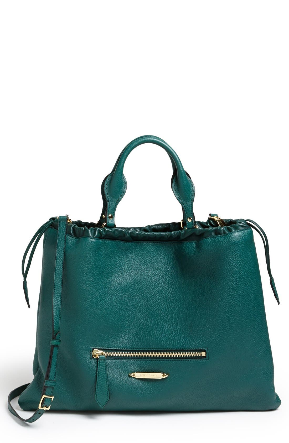 Alternate Image 1 Selected - Burberry 'The Big Crush' Calfskin Tote