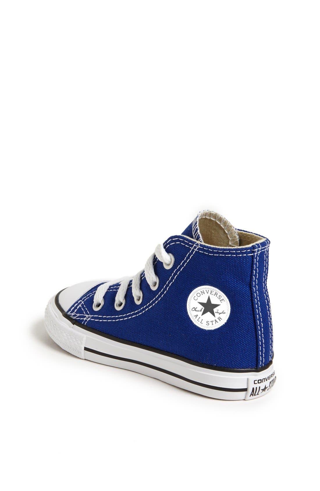 Alternate Image 2  - Converse Chuck Taylor® All Star® High Top Sneaker (Baby, Walker, Toddler & Little Kid)