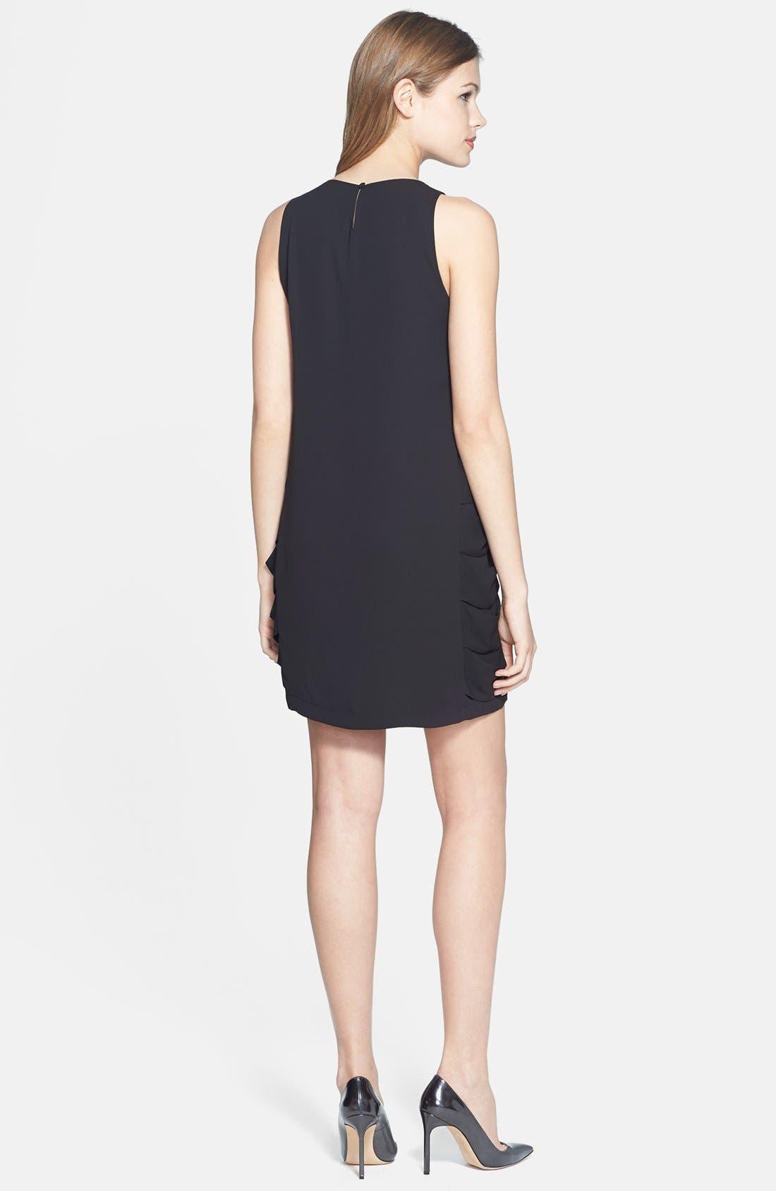 Alternate Image 3  - BCBGMAXAZRIA 'Eren' Side Slash Georgette Dress