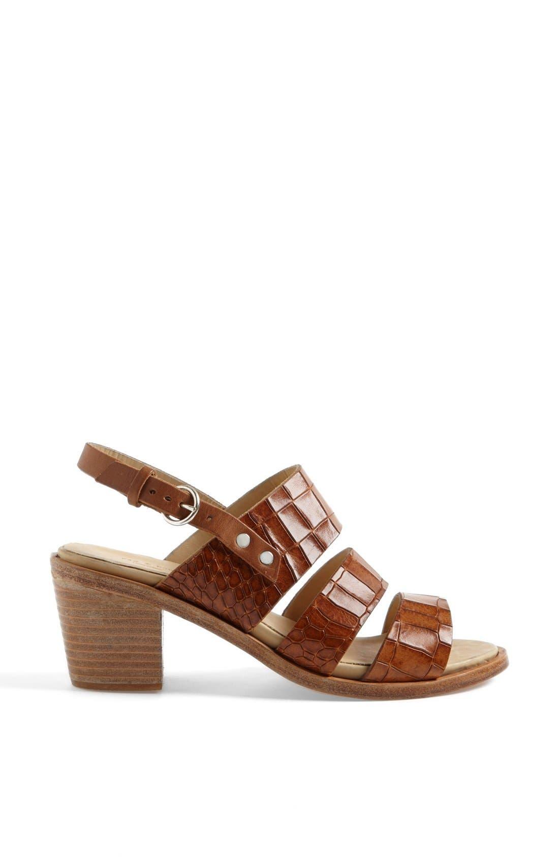 Alternate Image 4  - rag & bone 'Folsom' Croc Embossed Sandal (Online Only)
