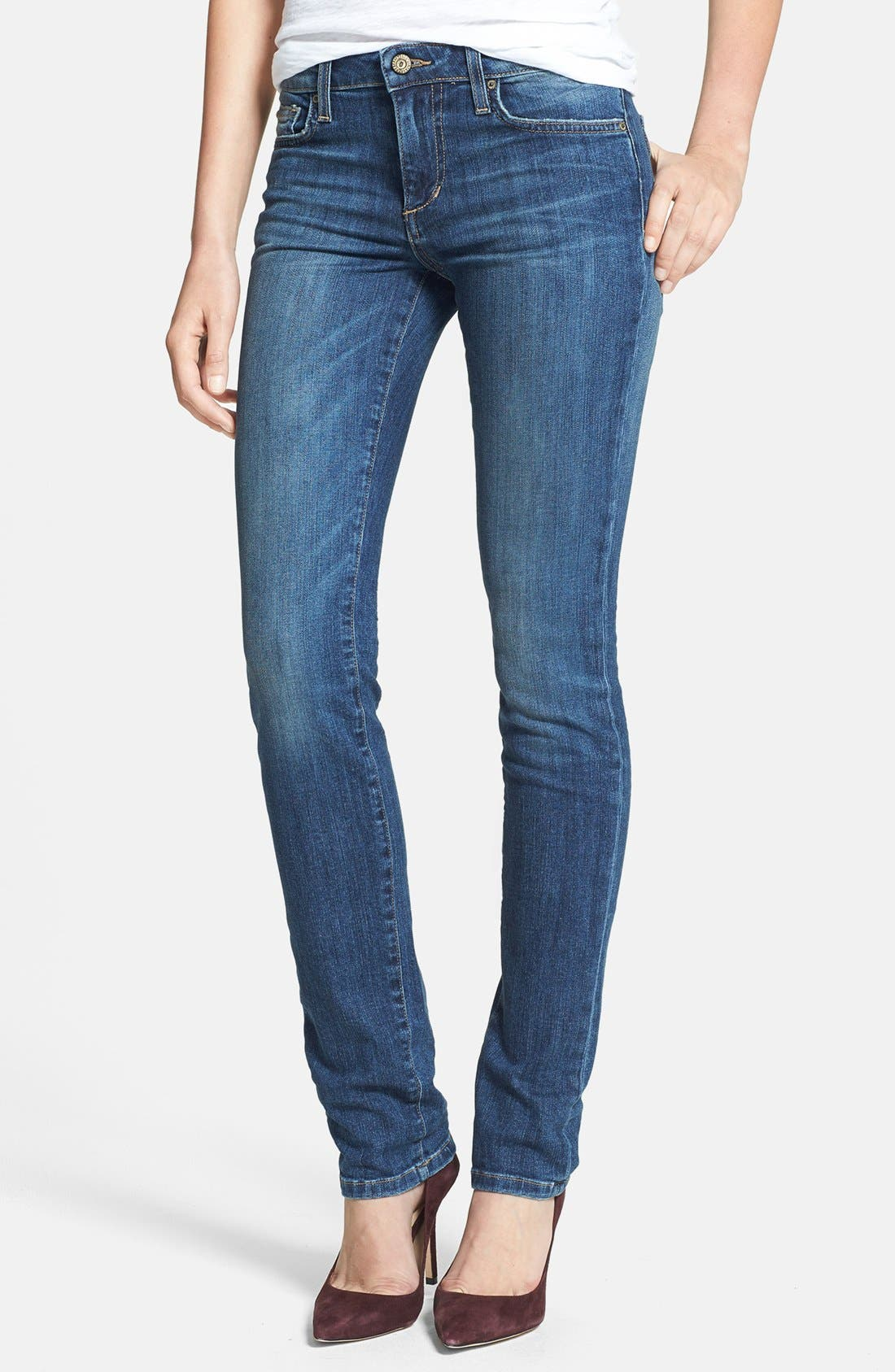 Alternate Image 1 Selected - Joe's 'The Skinny' Stretch Jeans (Laurel)
