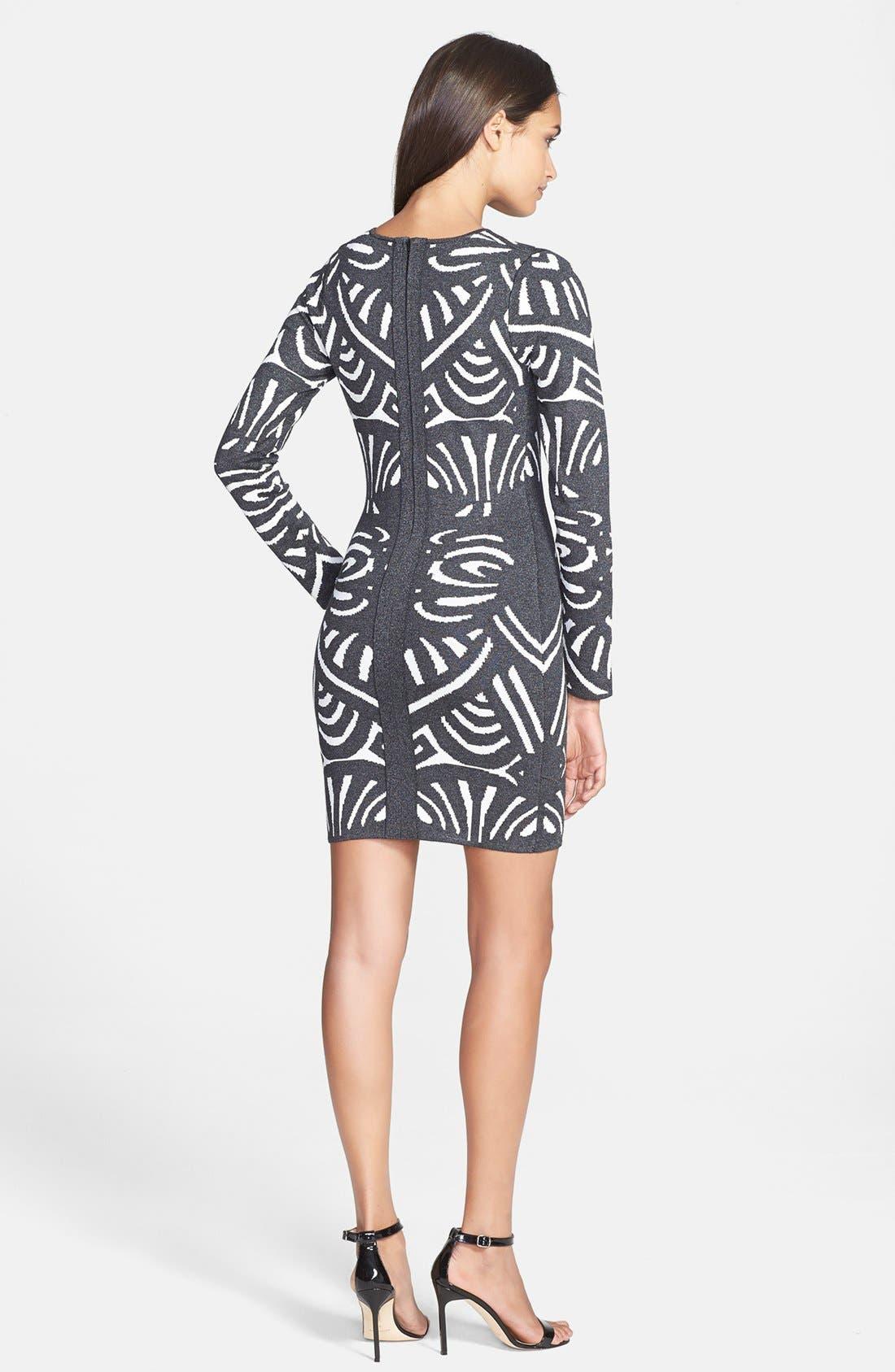Alternate Image 2  - Parker 'Chamberlain' Knit Sheath Dress