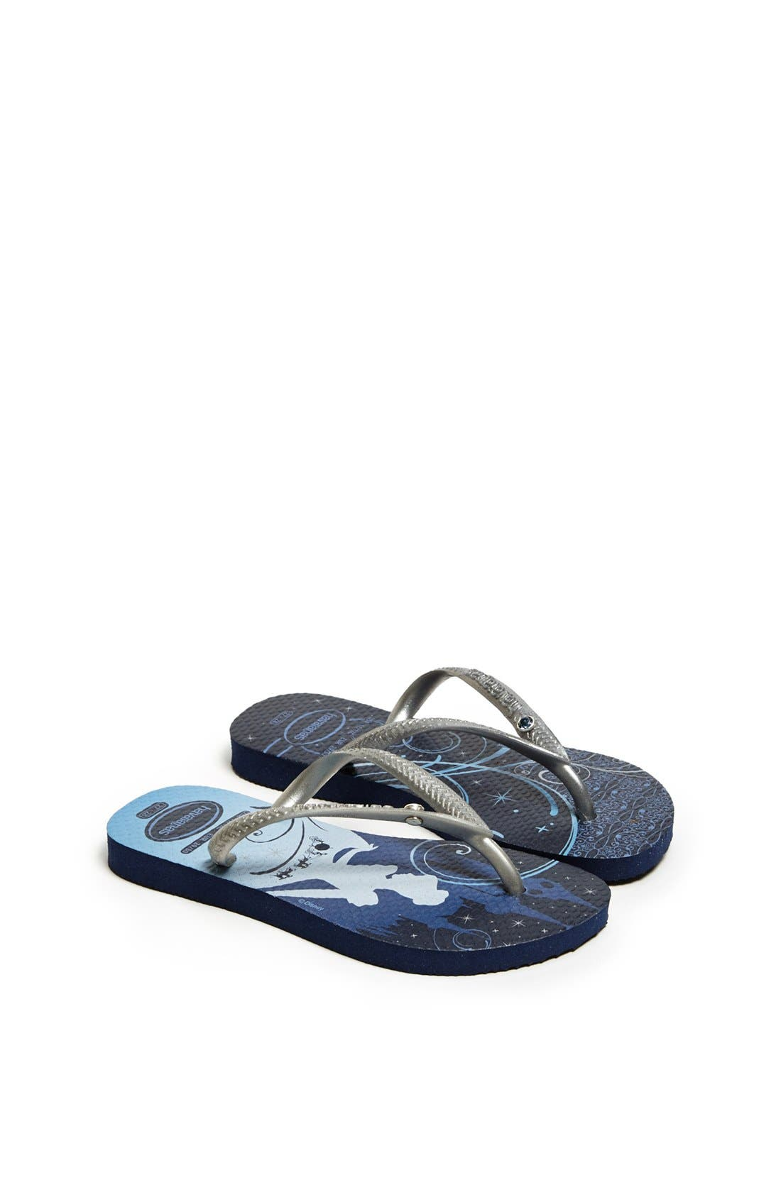 Alternate Image 1 Selected - Havaianas 'Slim Princess Glam' Flip Flop (Toddler & Little Kid)