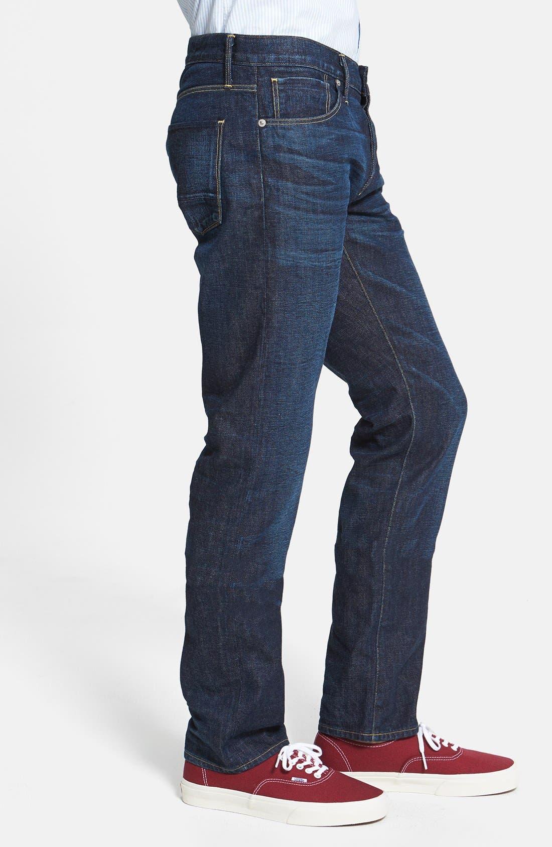Alternate Image 3  - 3x1 NYC 'M4' Straight Leg Selvedge Jeans (Walker)
