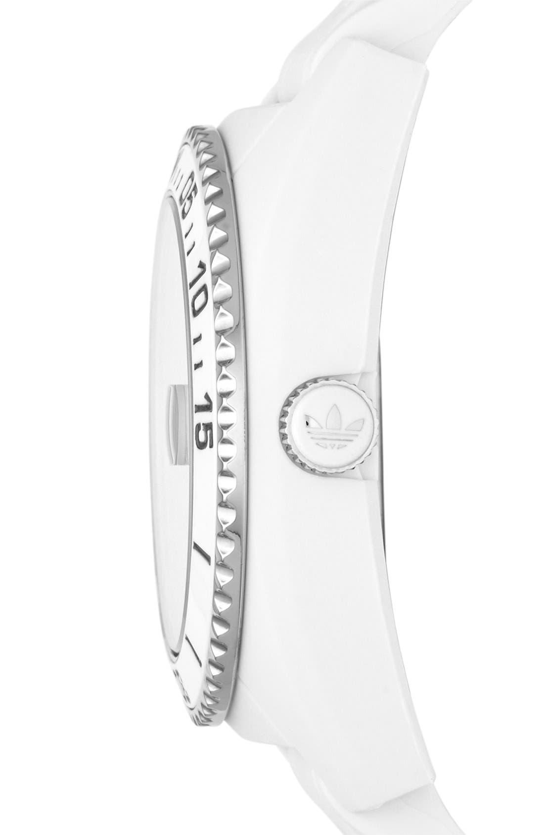Alternate Image 3  - adidas Originals 'Brisbane' Silicone Strap Watch, 42mm