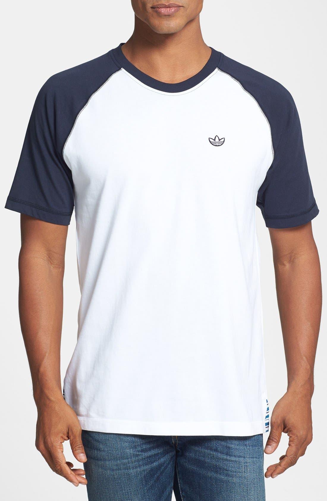 Alternate Image 1 Selected - adidas Originals Raglan Sleeve T-Shirt