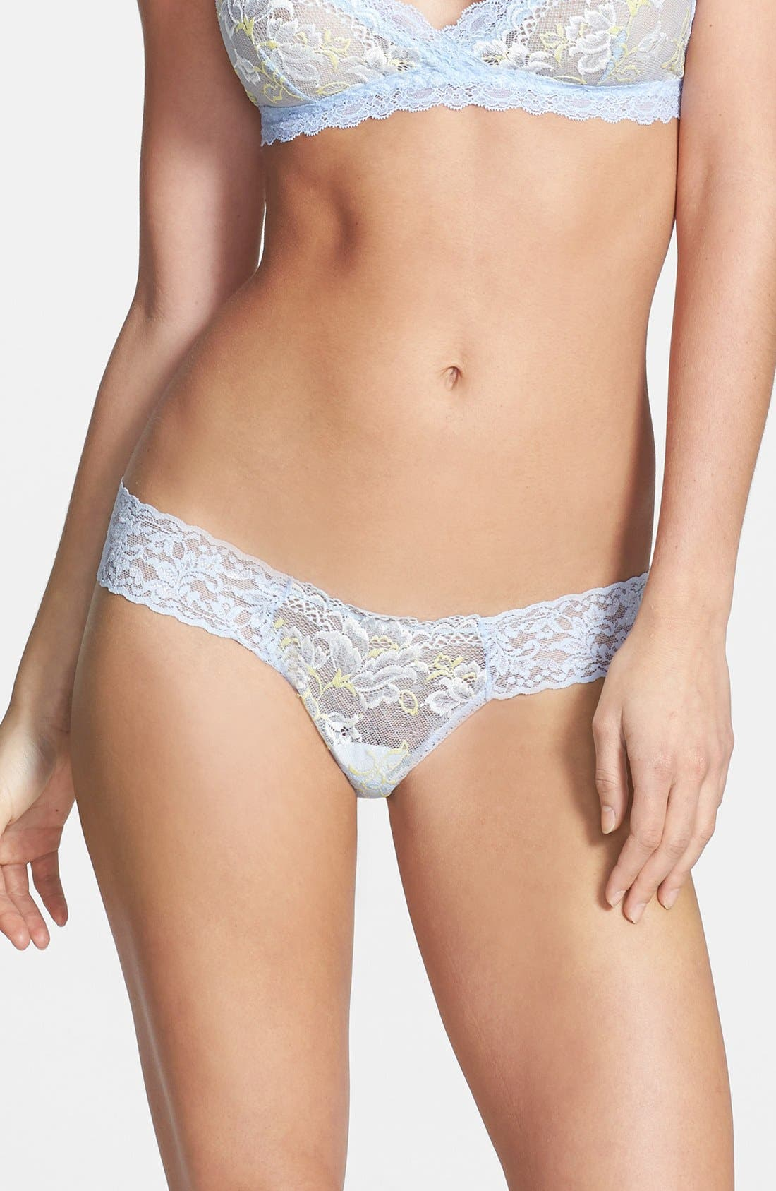 Main Image - Hanky Panky 'Bella Blue Enchanted' Thong