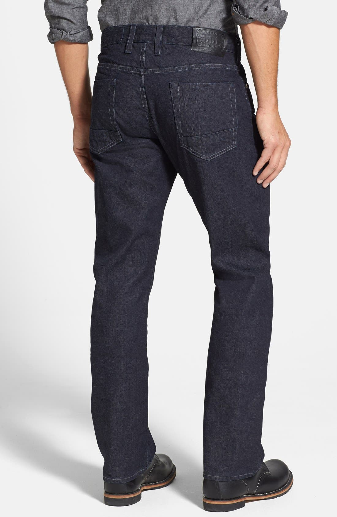 Alternate Image 2  - Shade 55 '1978' Relaxed Straight Leg Jeans (Seattle)