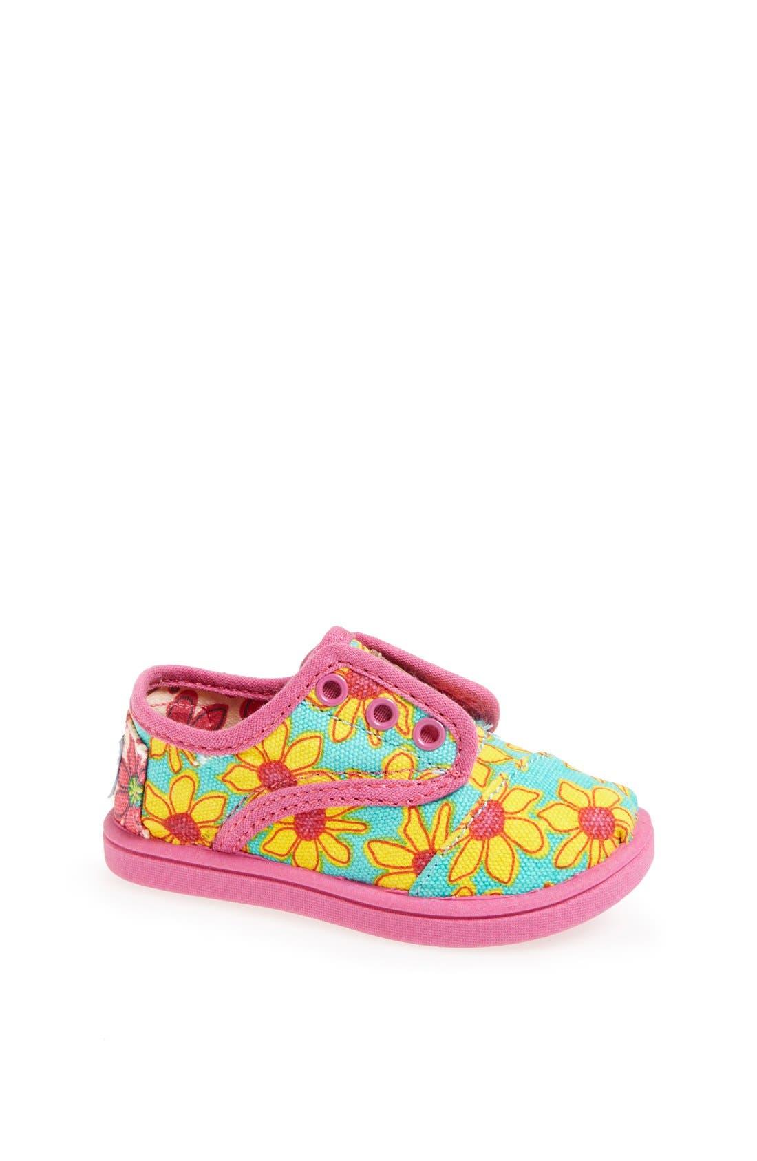 Alternate Image 1 Selected - TOMS 'Cordones - Tiny' Slip-On Sneaker (Baby, Walker & Toddler)