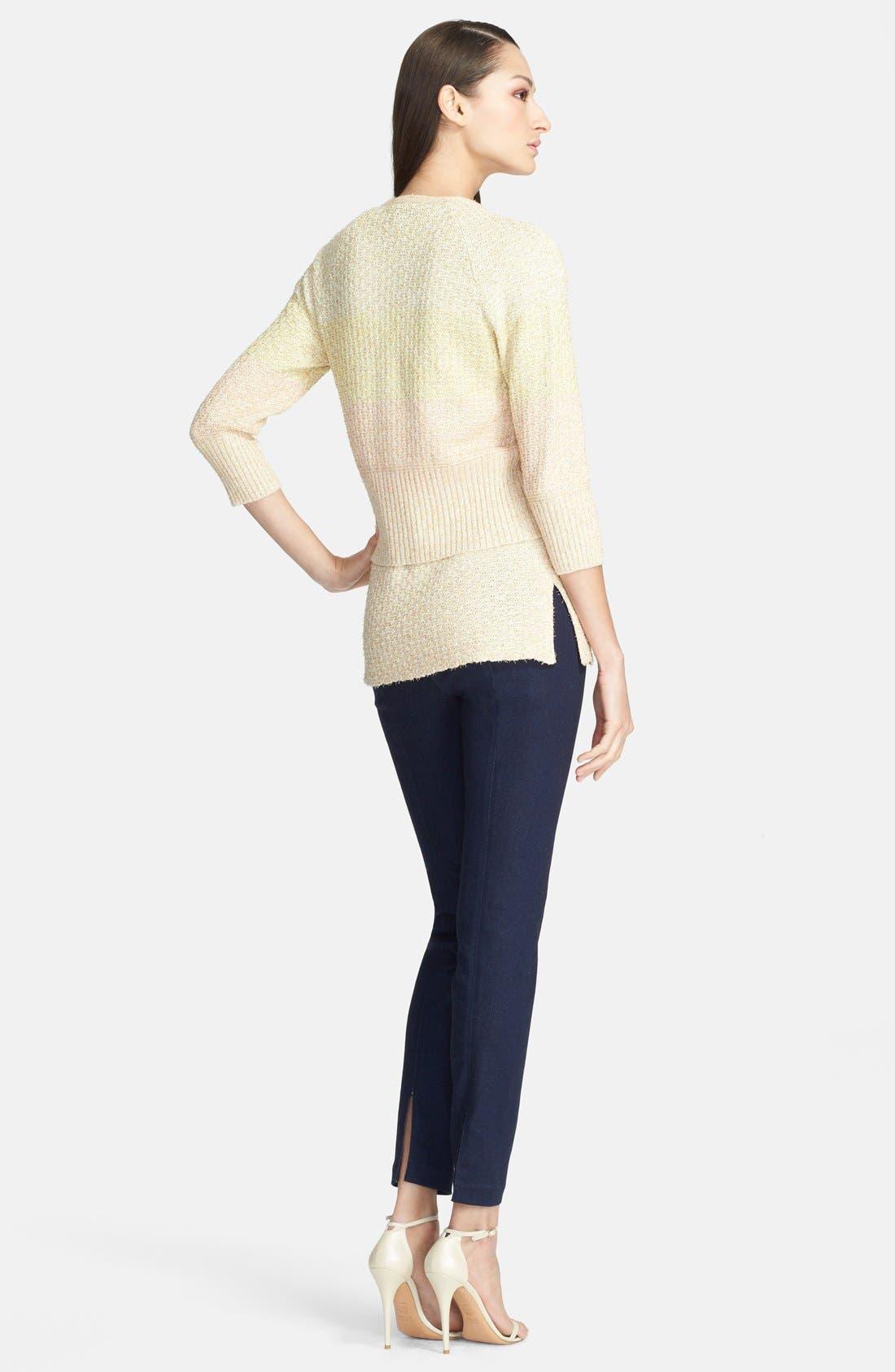 Alternate Image 3  - St. John Yellow Label Soft Stretch Denim Leggings