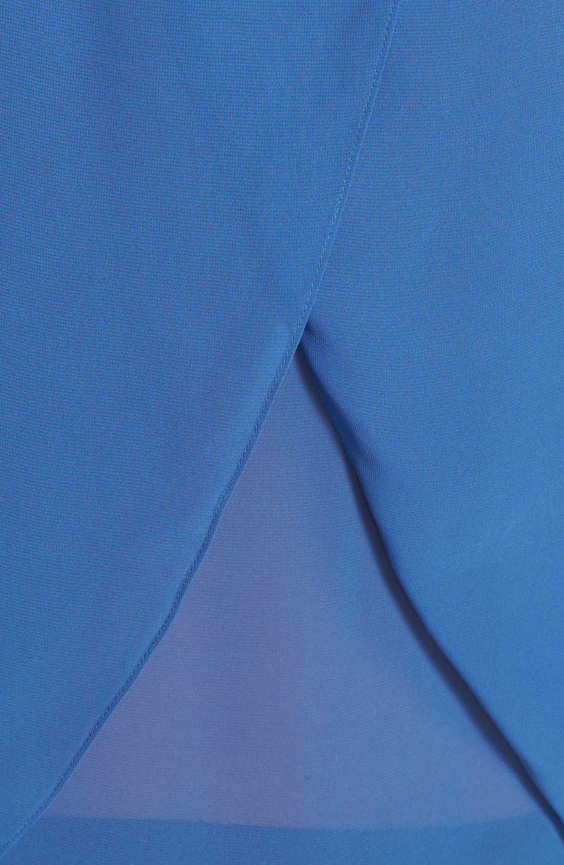 Alternate Image 3  - Kenneth Cole New York 'Estelle' Wrap Back Scoop Neck Blouse