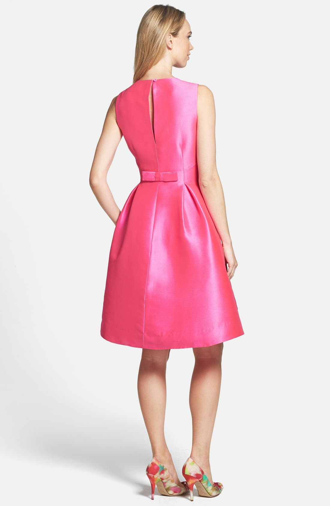Alternate Image 2  - kate spade new york 'roset' woven fit & flare dress