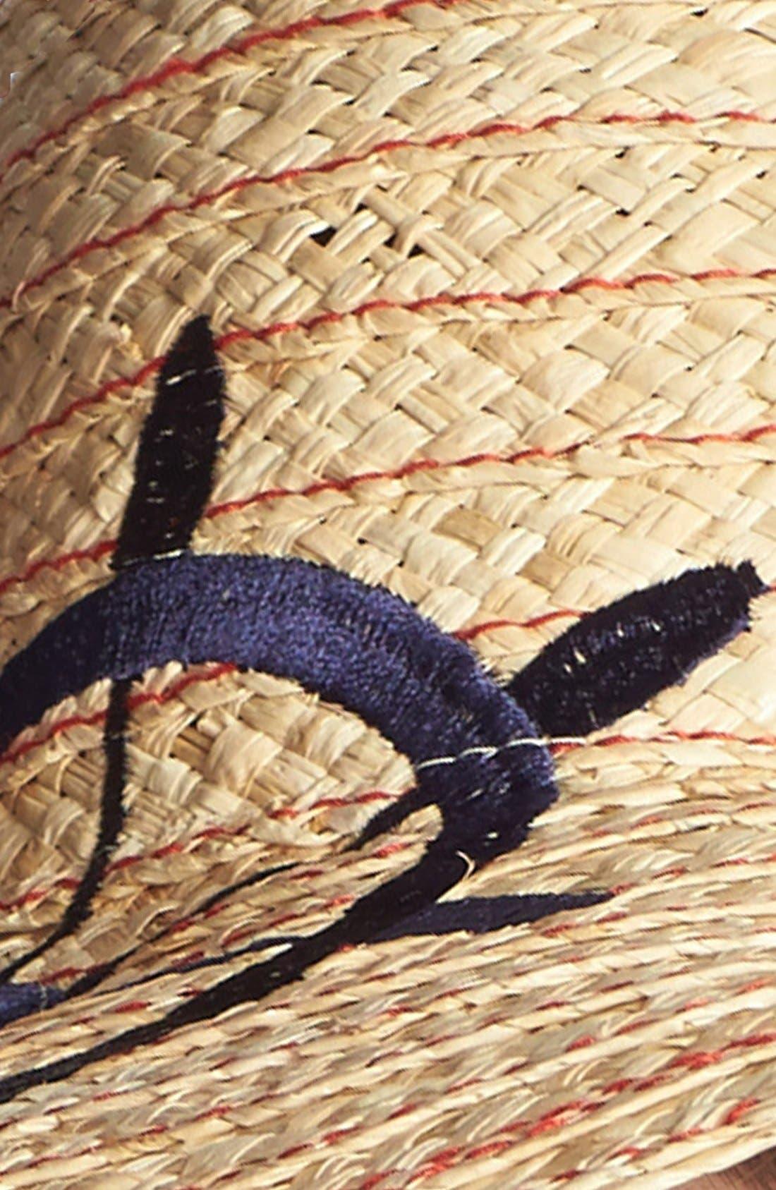Alternate Image 2  - Jonathan Adler Embroidered Wheel Floppy Hat