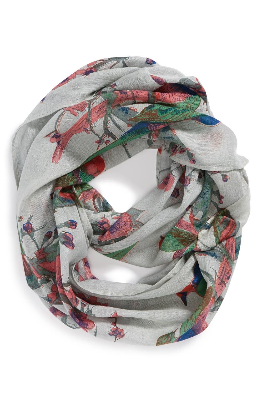 Alternate Image 1 Selected - POVERTY FLATS by rian 'Love Birds' Infinity Scarf