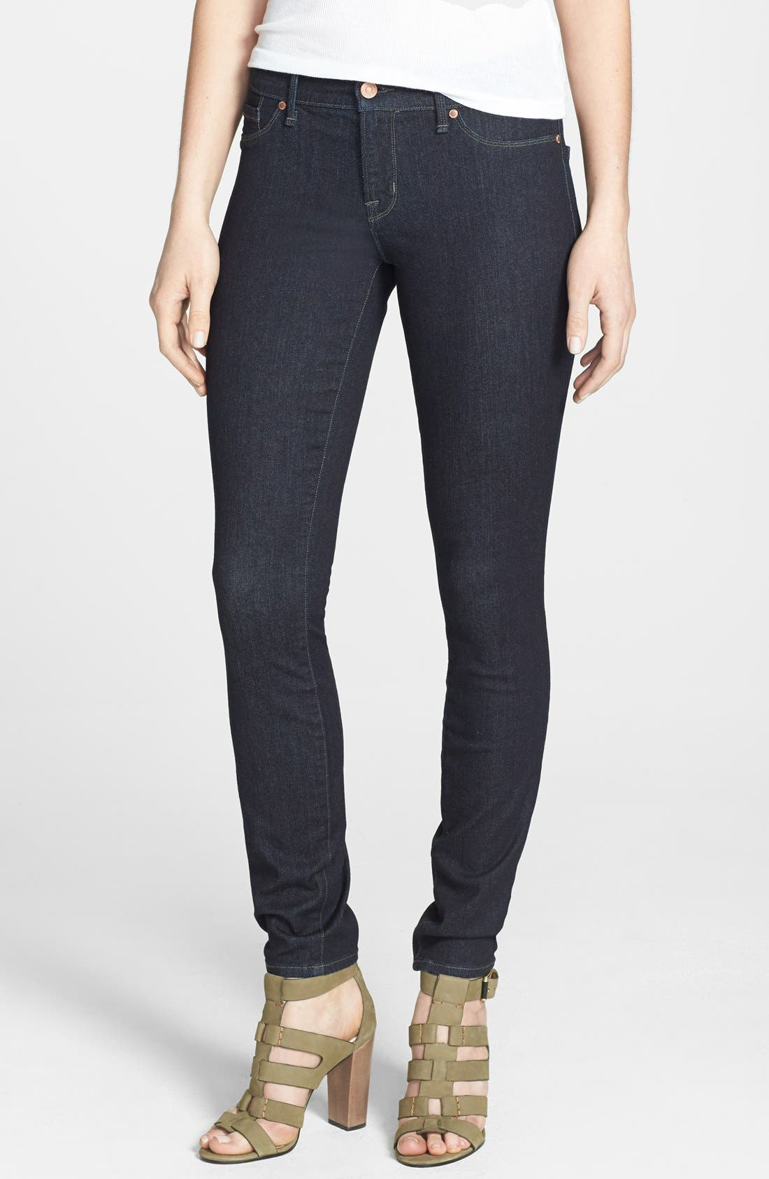 Alternate Image 1 Selected - MARC BY MARC JACOBS 'Stick' Stretch Skinny Jeans (Rinse)