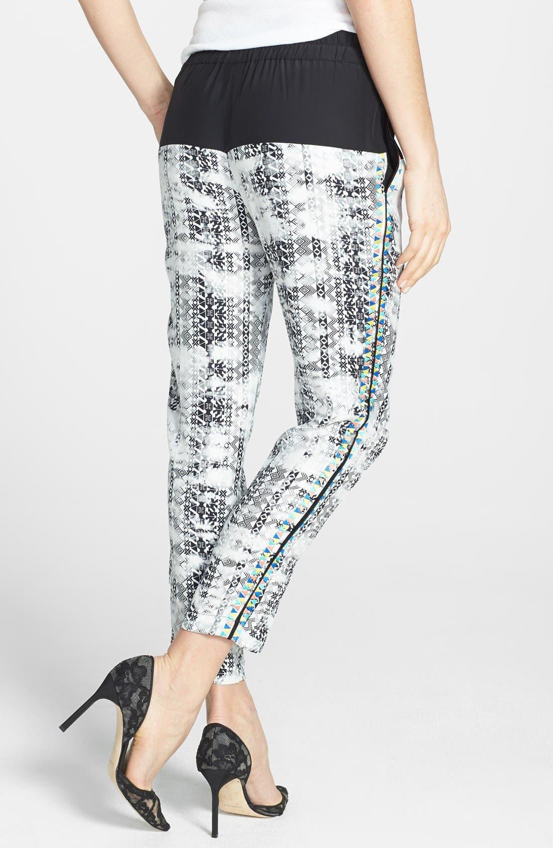 Alternate Image 2  - Parker 'Gabby' Print Silk Pants