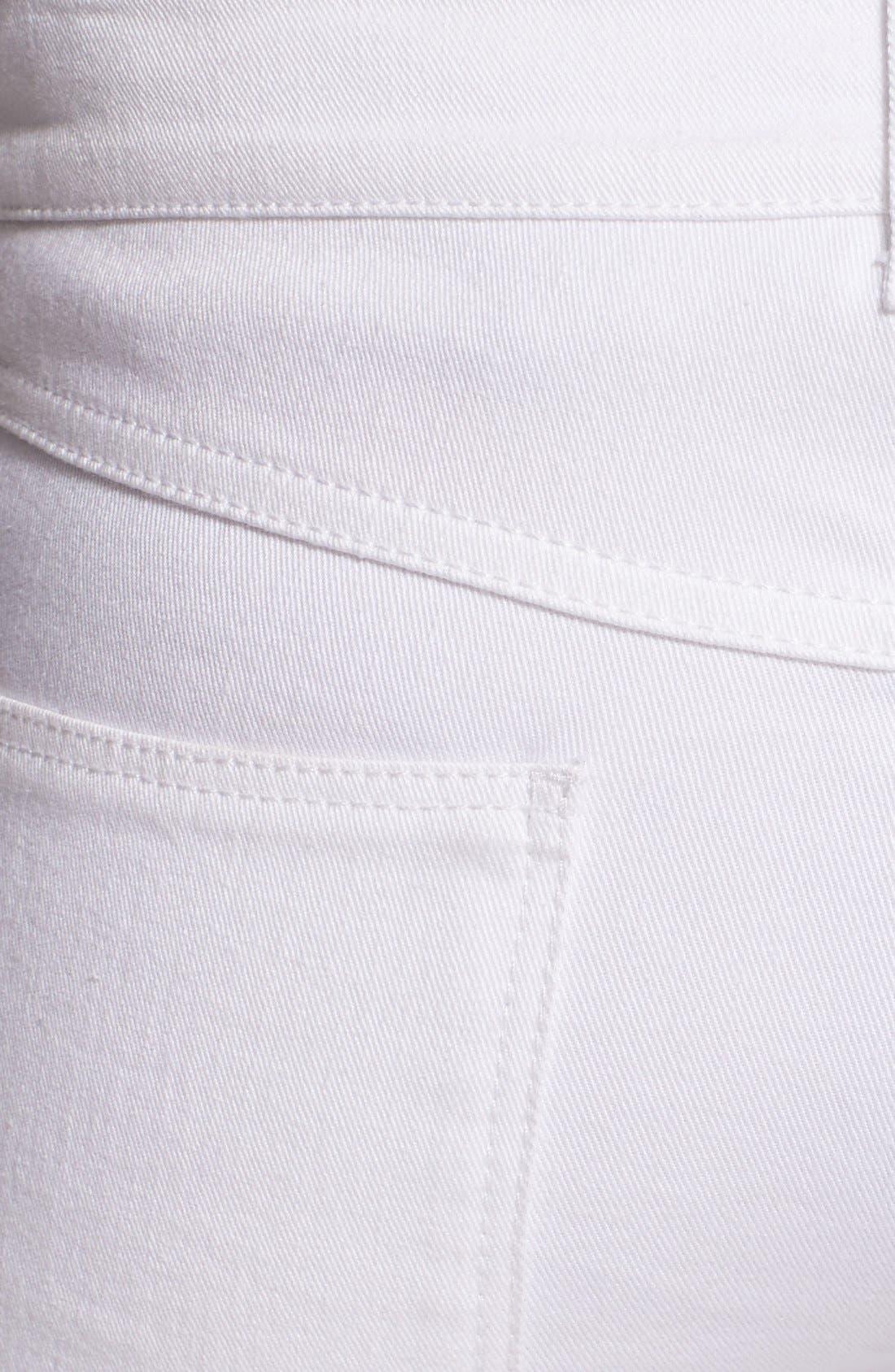 Alternate Image 3  - Alexander McQueen Zip Detail Skinny Ankle Jeans