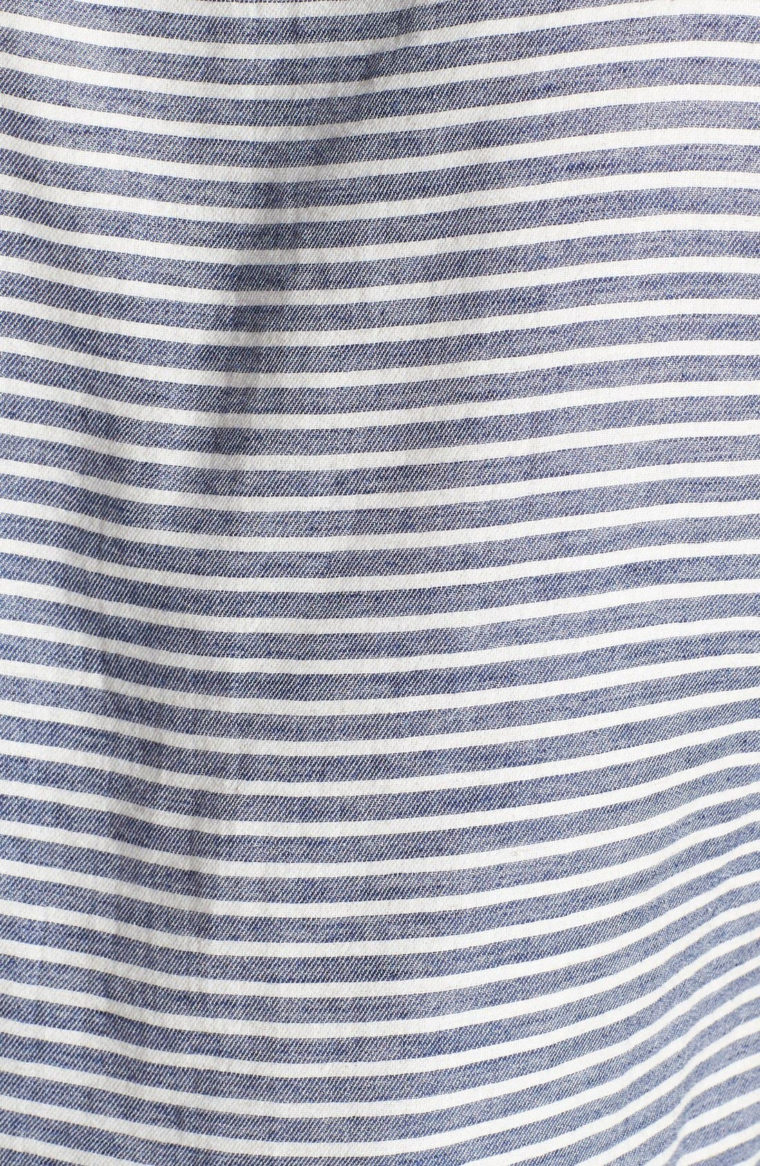 Alternate Image 3  - Citizens of Humanity 'Premium Vintage - Odette' Stripe Cotton Blend Tee