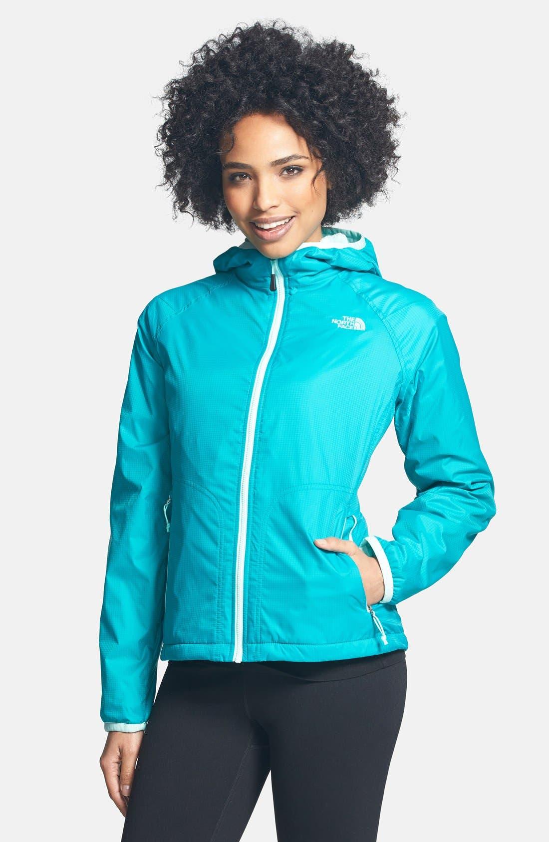 Alternate Image 1 Selected - The North Face 'Pitaya Swirl' Hooded Jacket