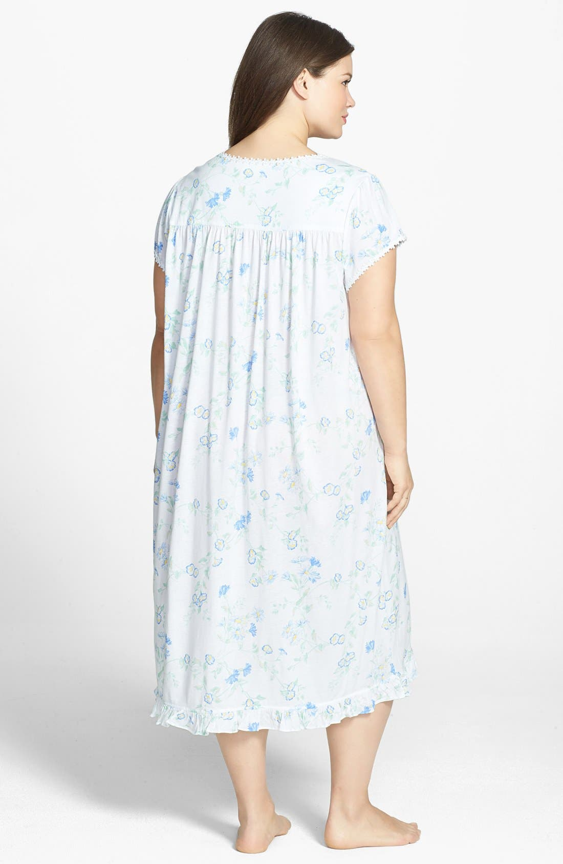 Alternate Image 2  - Eileen West 'Serendipity' Nightgown (Plus Size)