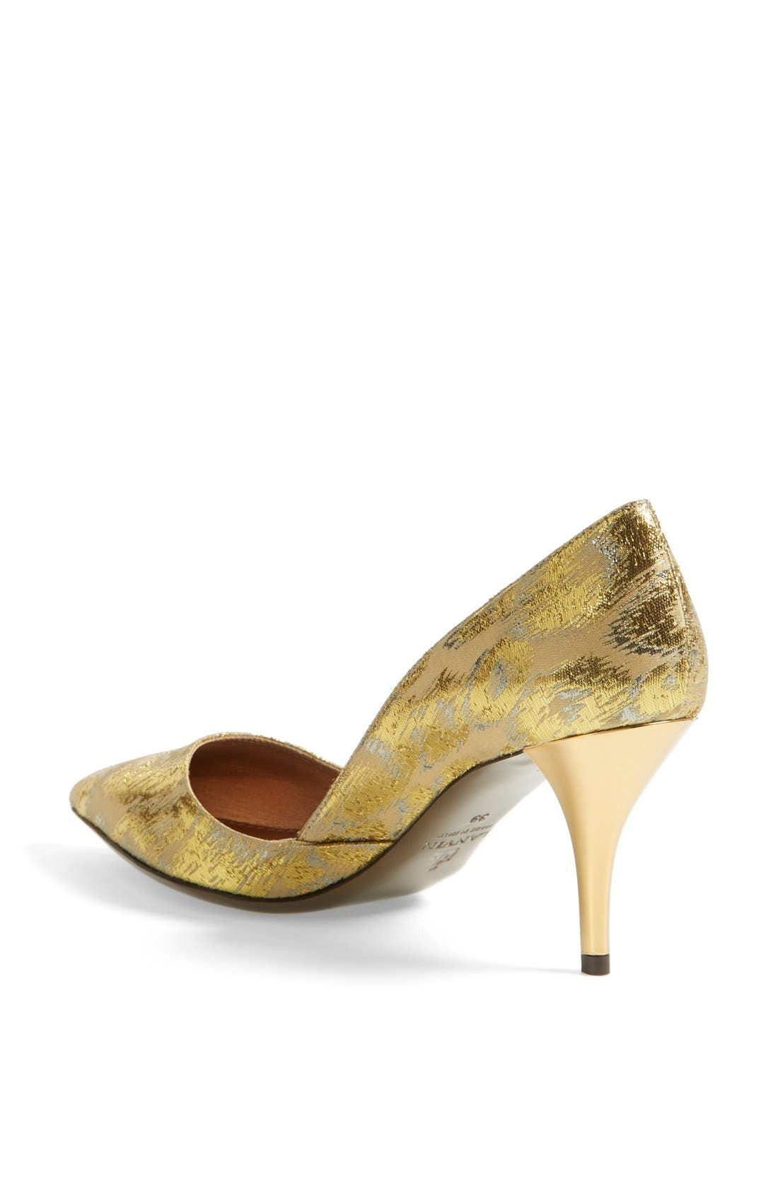 Alternate Image 2  - Lanvin Metallic Jacquard Pump