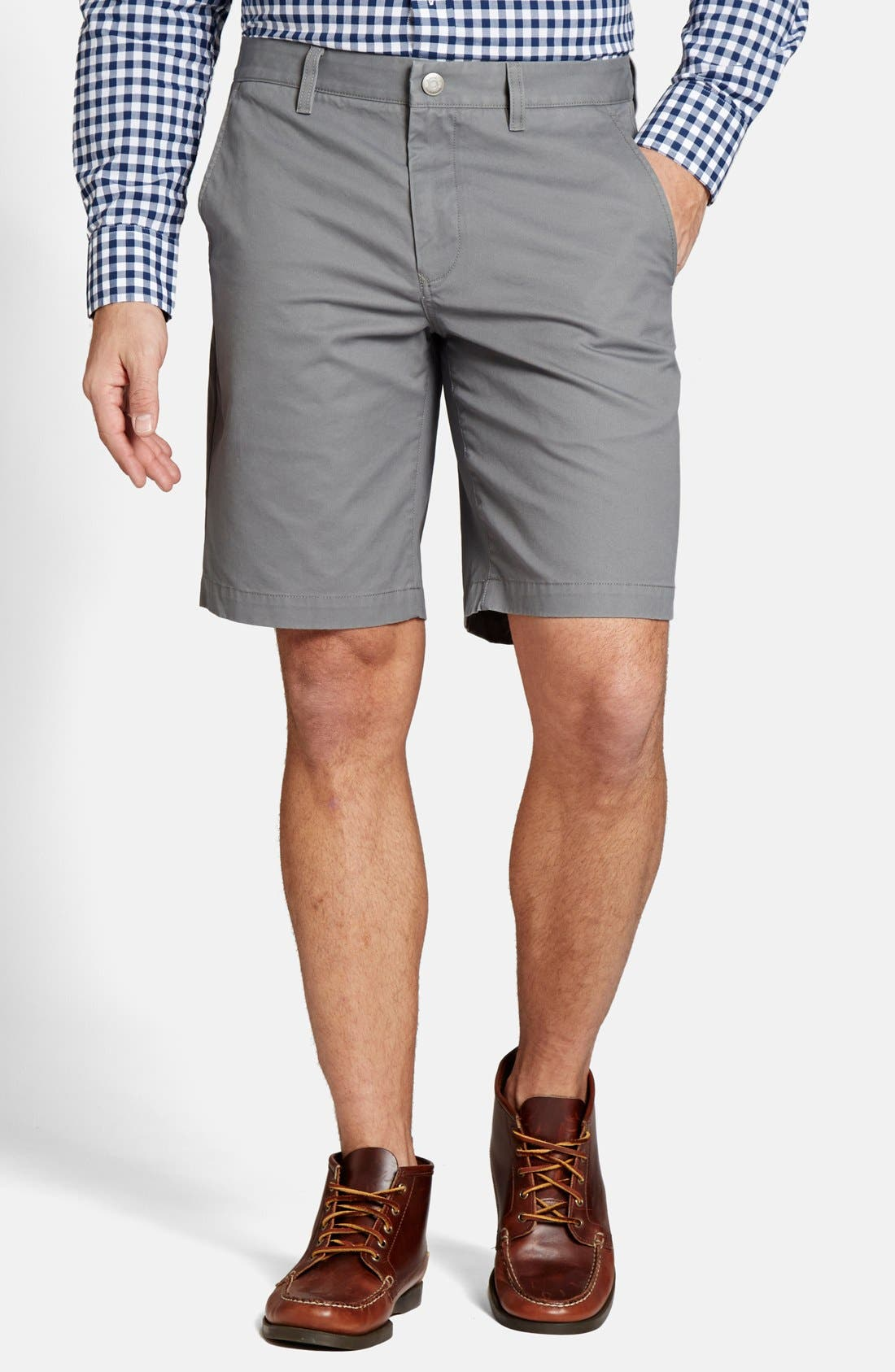 "Alternate Image 1 Selected - Bonobos 9"" 'B's Knees' Washed Cotton Chino Shorts"