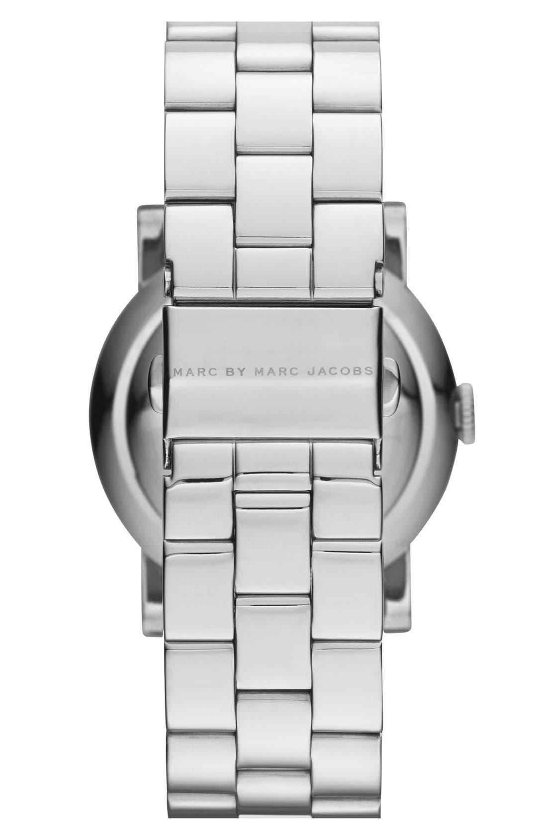Alternate Image 2  - MARC JACOBS 'Amy' Bracelet Watch, 36mm