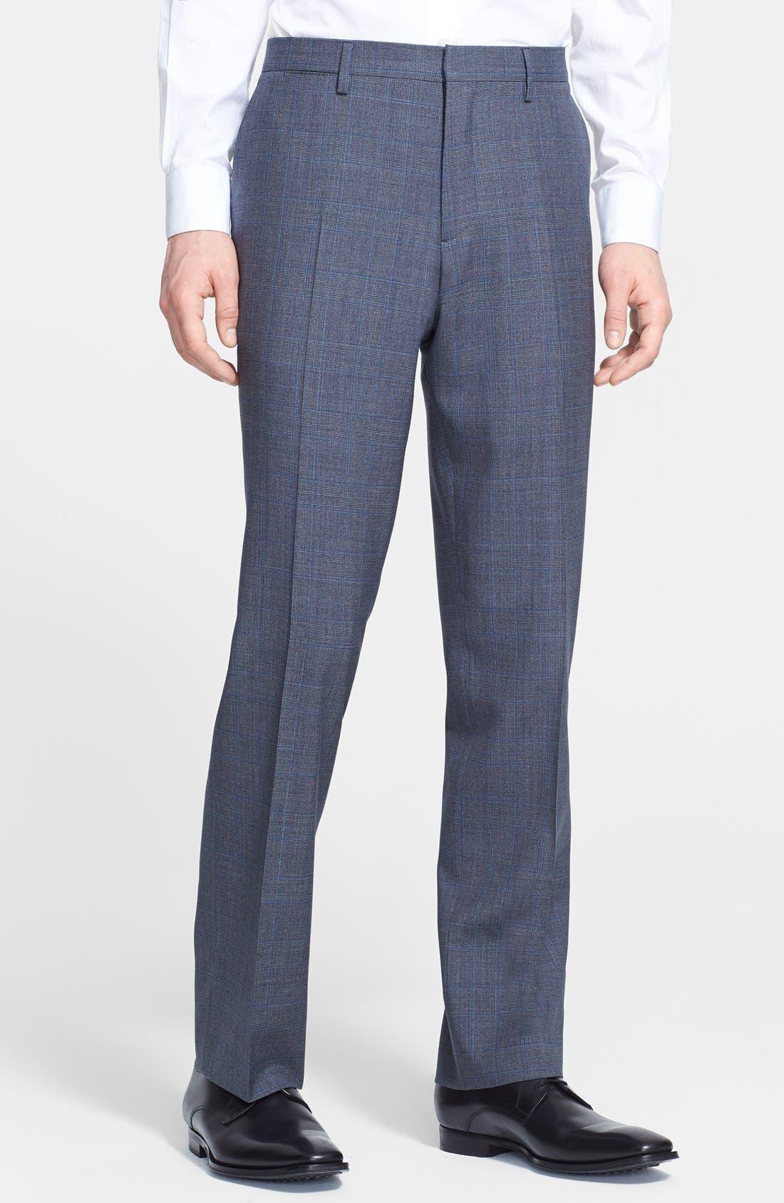 Alternate Image 4  - Burberry London 'Canbury' Glen Plaid Virgin Wool Suit