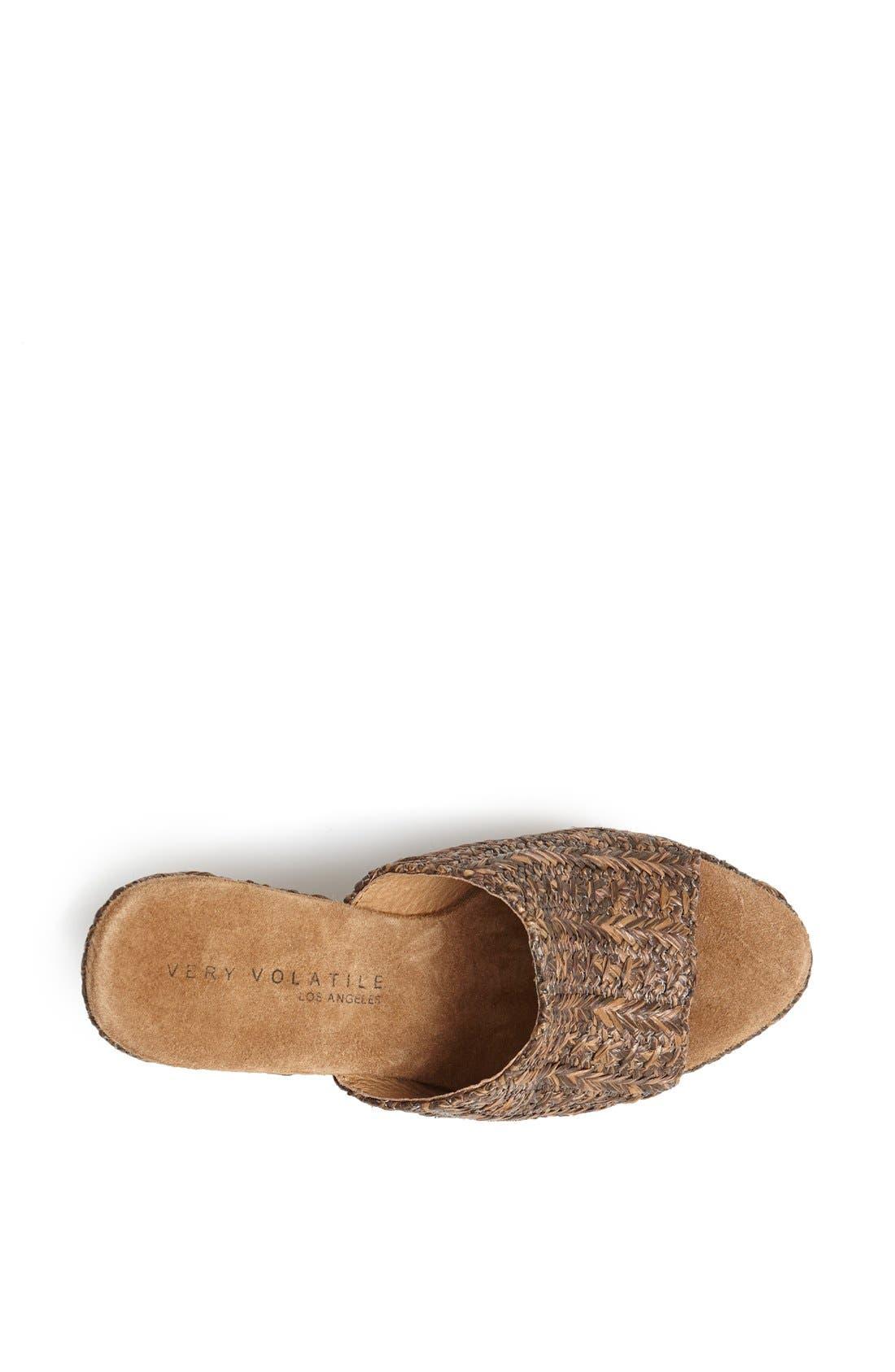Alternate Image 3  - Very Volatile 'Sandstone' Wedge Sandal