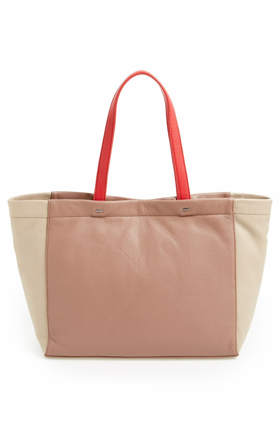 Alternate Image 4  - MARC BY MARC JACOBS 'What's the T' Leather Tote