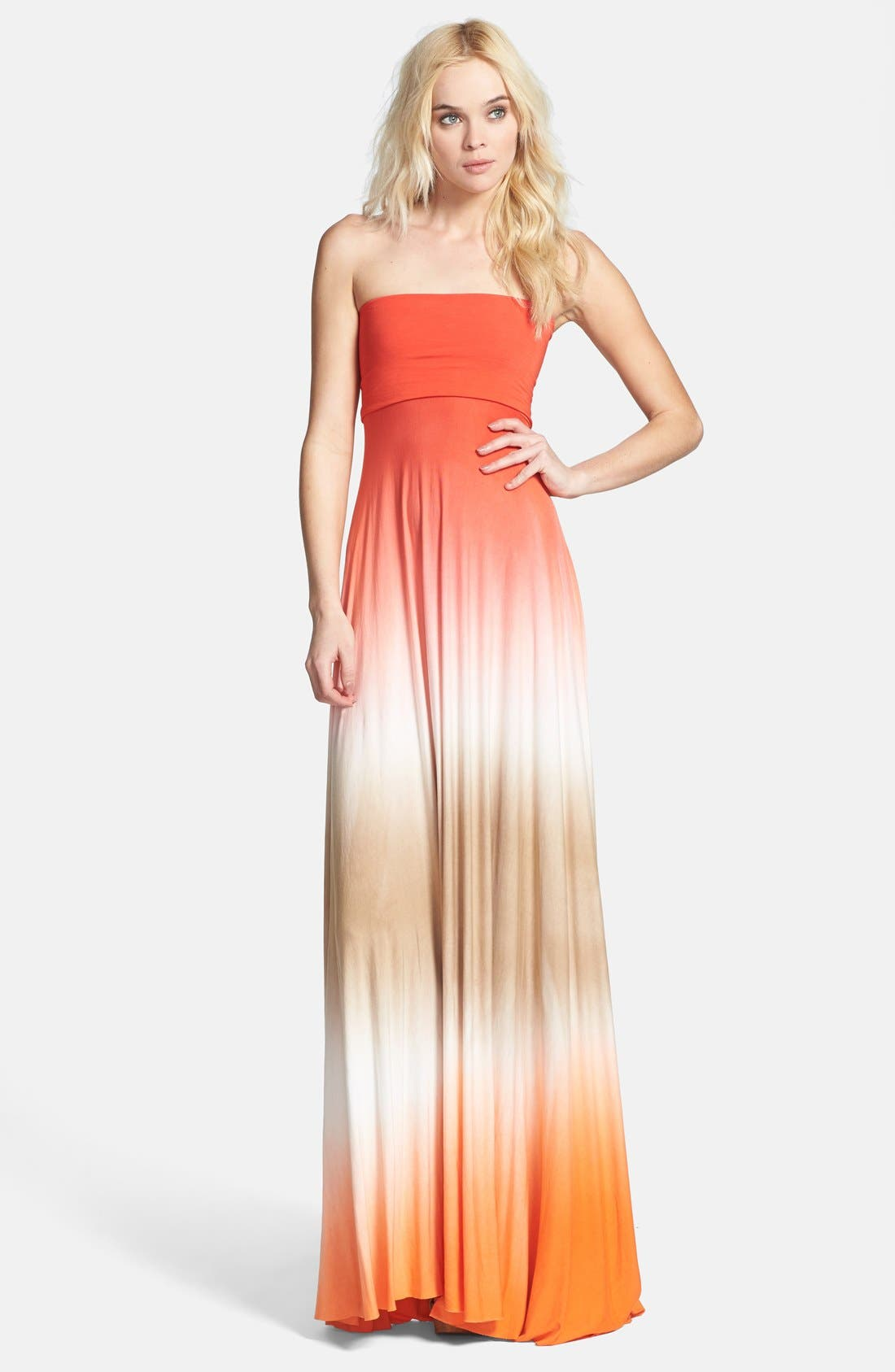 Main Image - Young, Fabulous & Broke 'Bangal' Convertible Maxi Dress