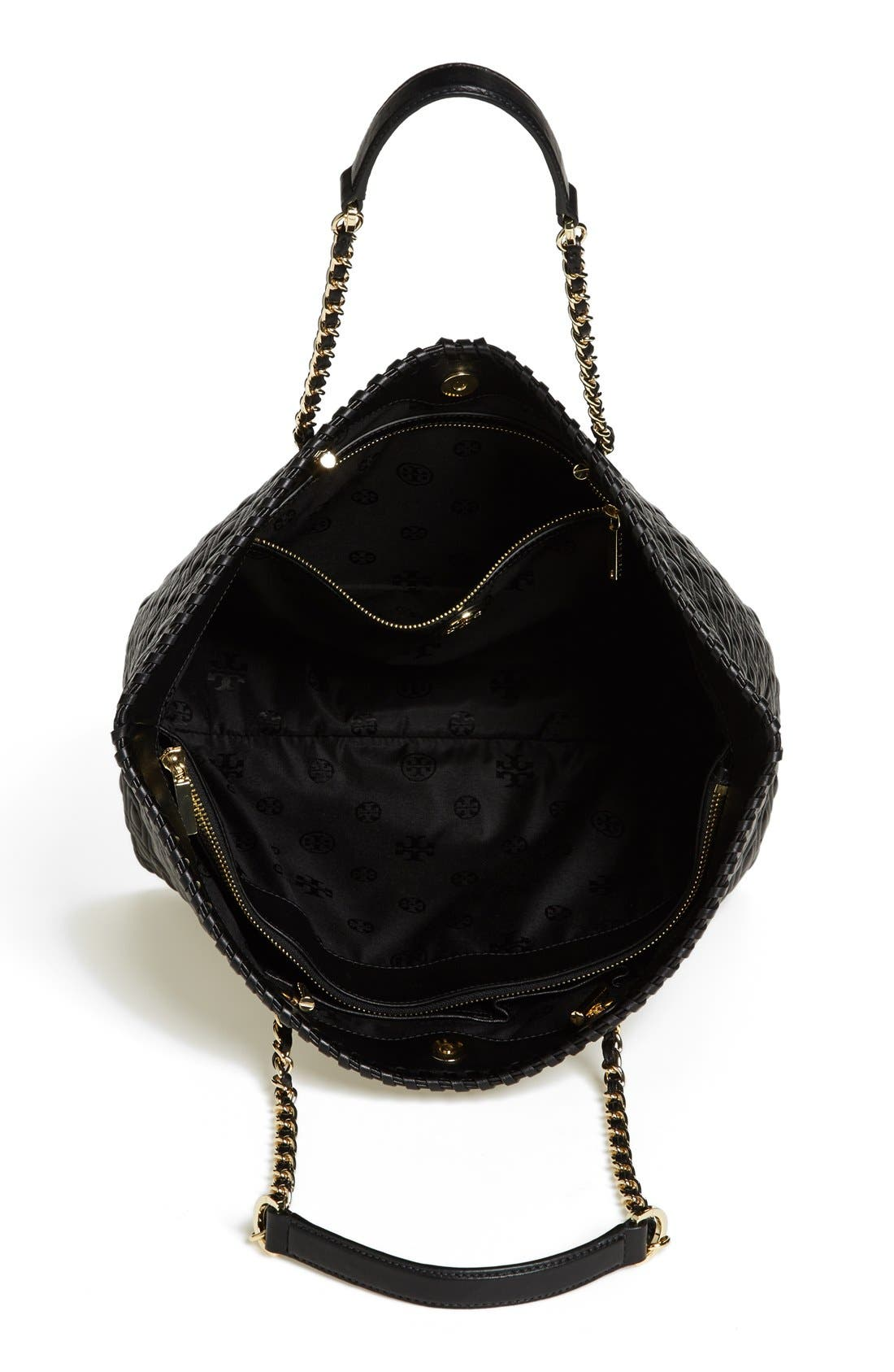 Alternate Image 3  - Tory Burch 'Small Marion' Leather Tote