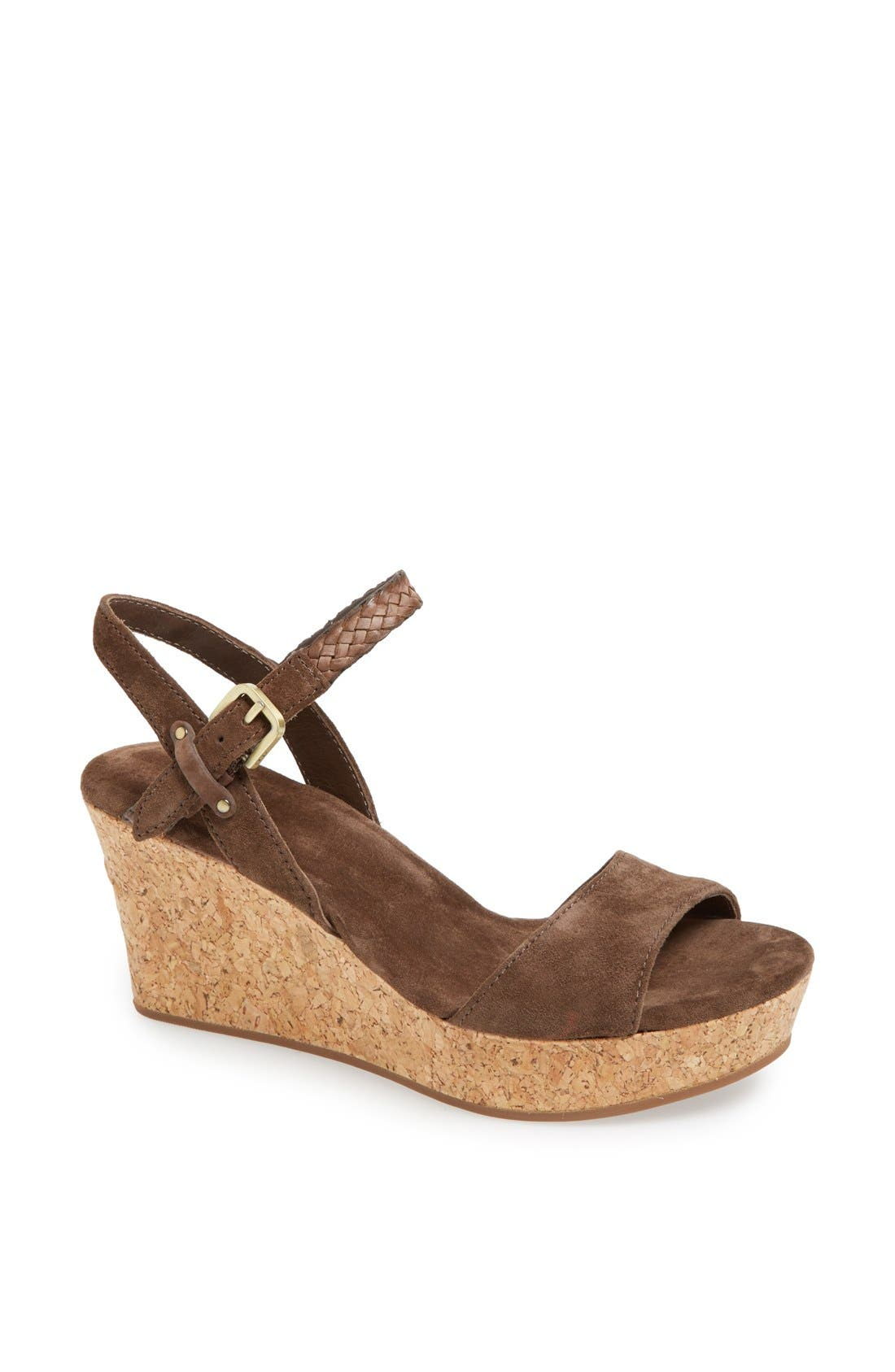 Alternate Image 1 Selected - UGG® Australia 'D'Alessio' Sandal