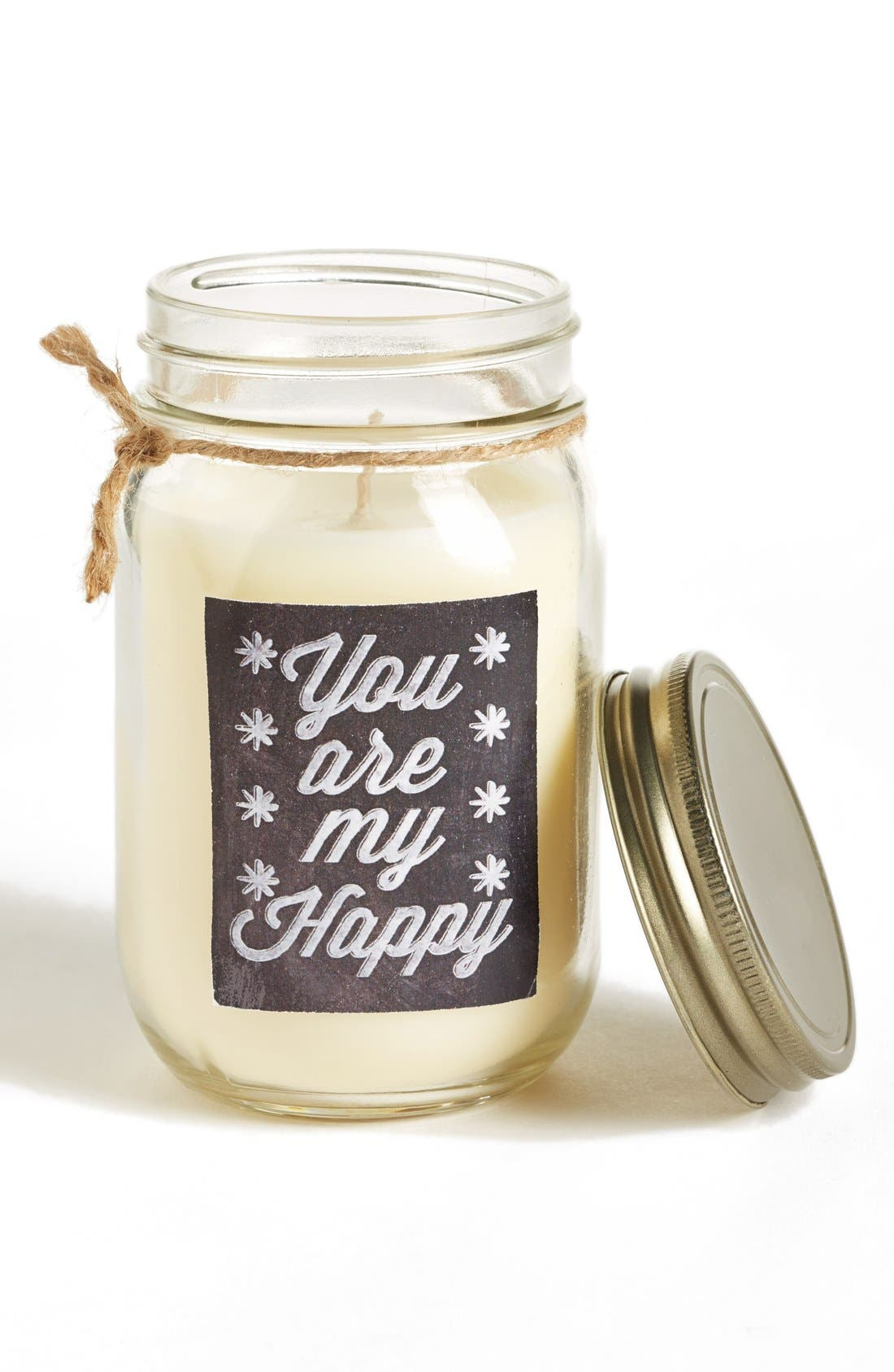 Alternate Image 1 Selected - Primitives by Kathy 'You Are My Happy - Tranquil Spa' Mason Jar Candle