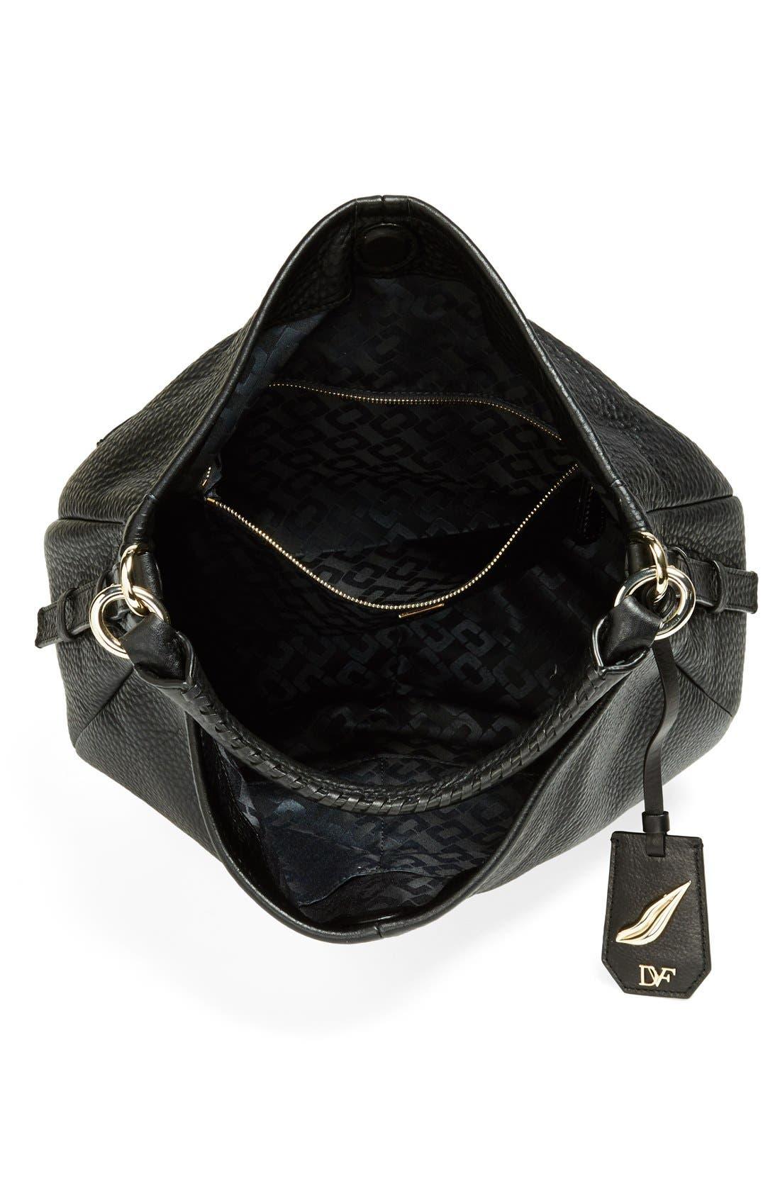 Alternate Image 3  - Diane von Furstenberg 'Sutra' Grainy Leather Hobo
