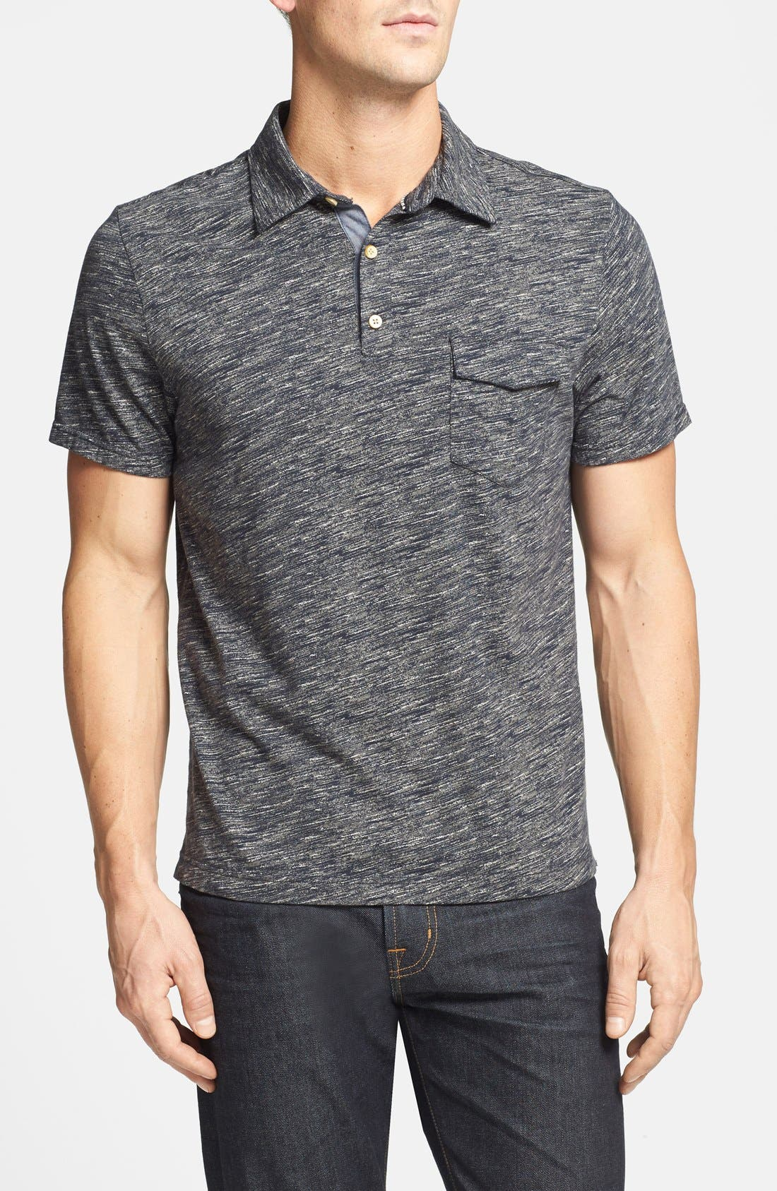 Main Image - Surfside Supply 'Space Print' Polo