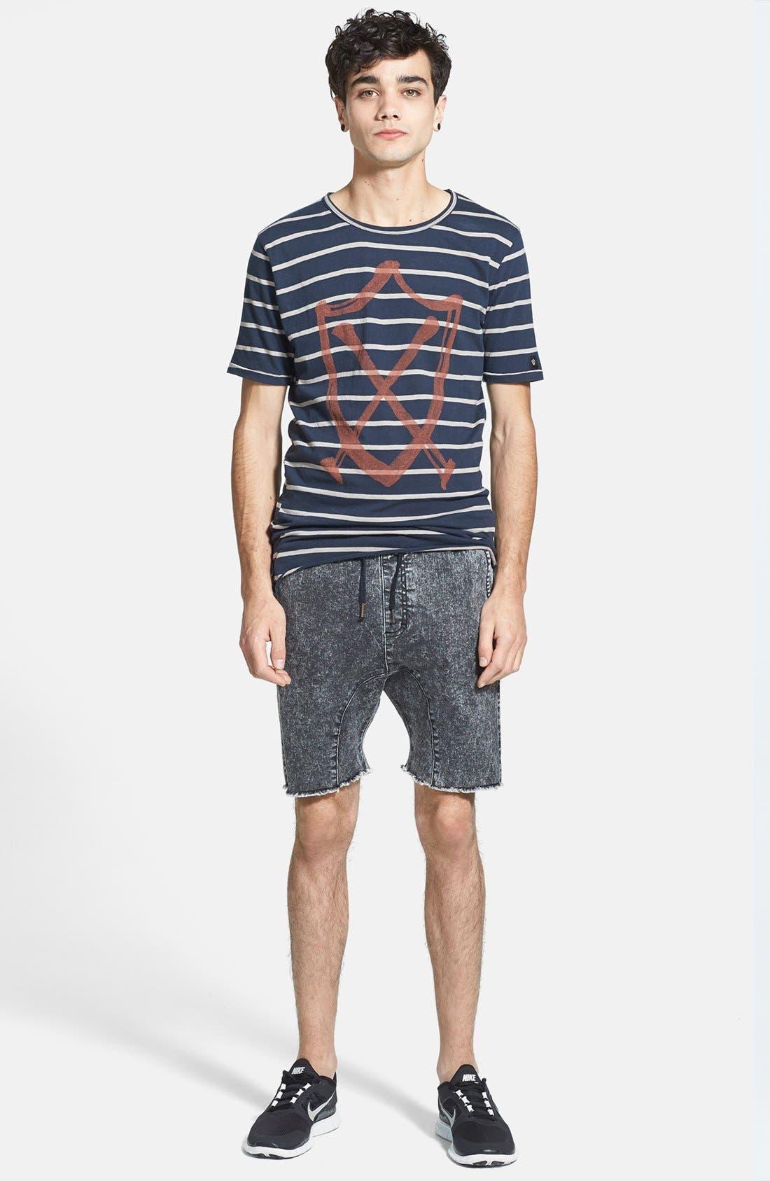 Alternate Image 4  - ZANEROBE 'Sureshot' Cutoff Jogger Shorts