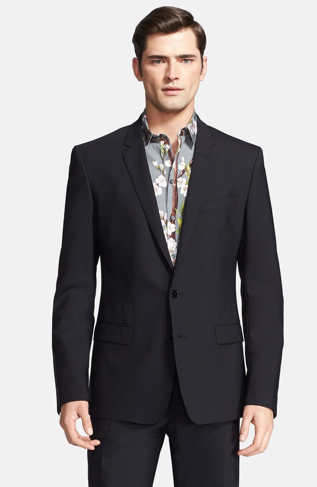 Alternate Image 3  - Dolce&Gabbana 'Martini' Stretch Wool Suit