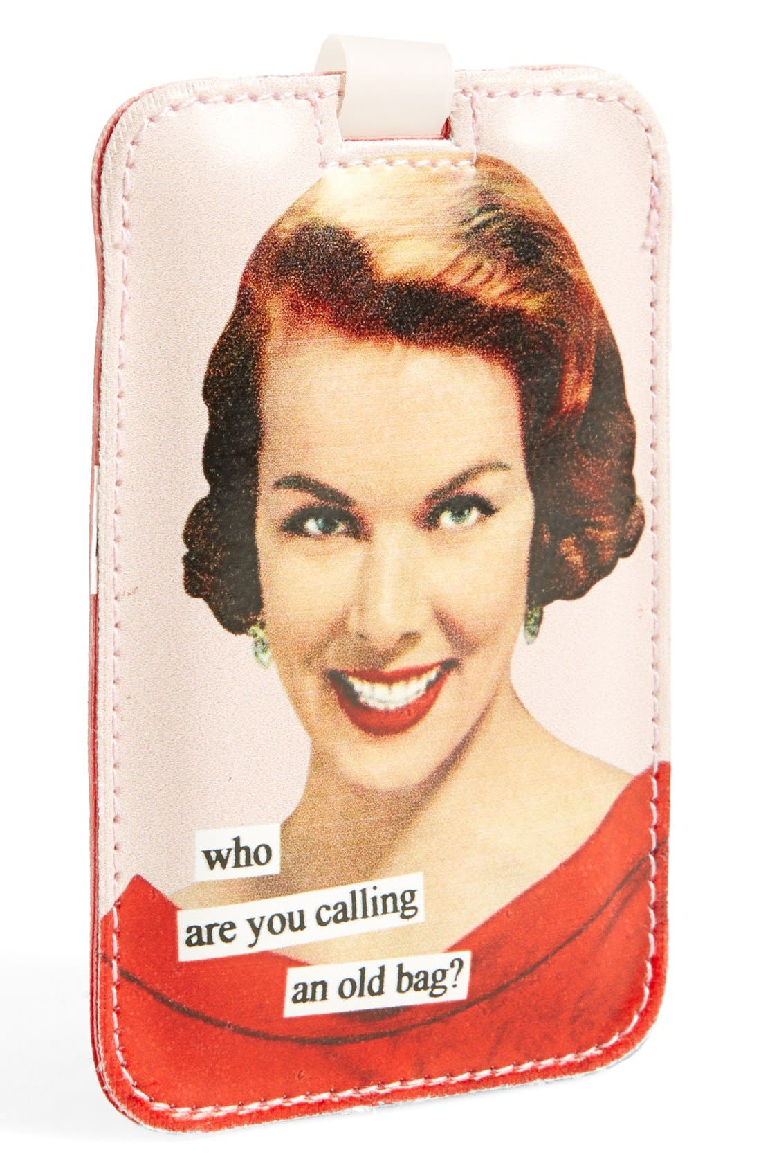 Alternate Image 1 Selected - Anne Taintor 'Who Are You Calling an Old Bag?' Luggage Tag