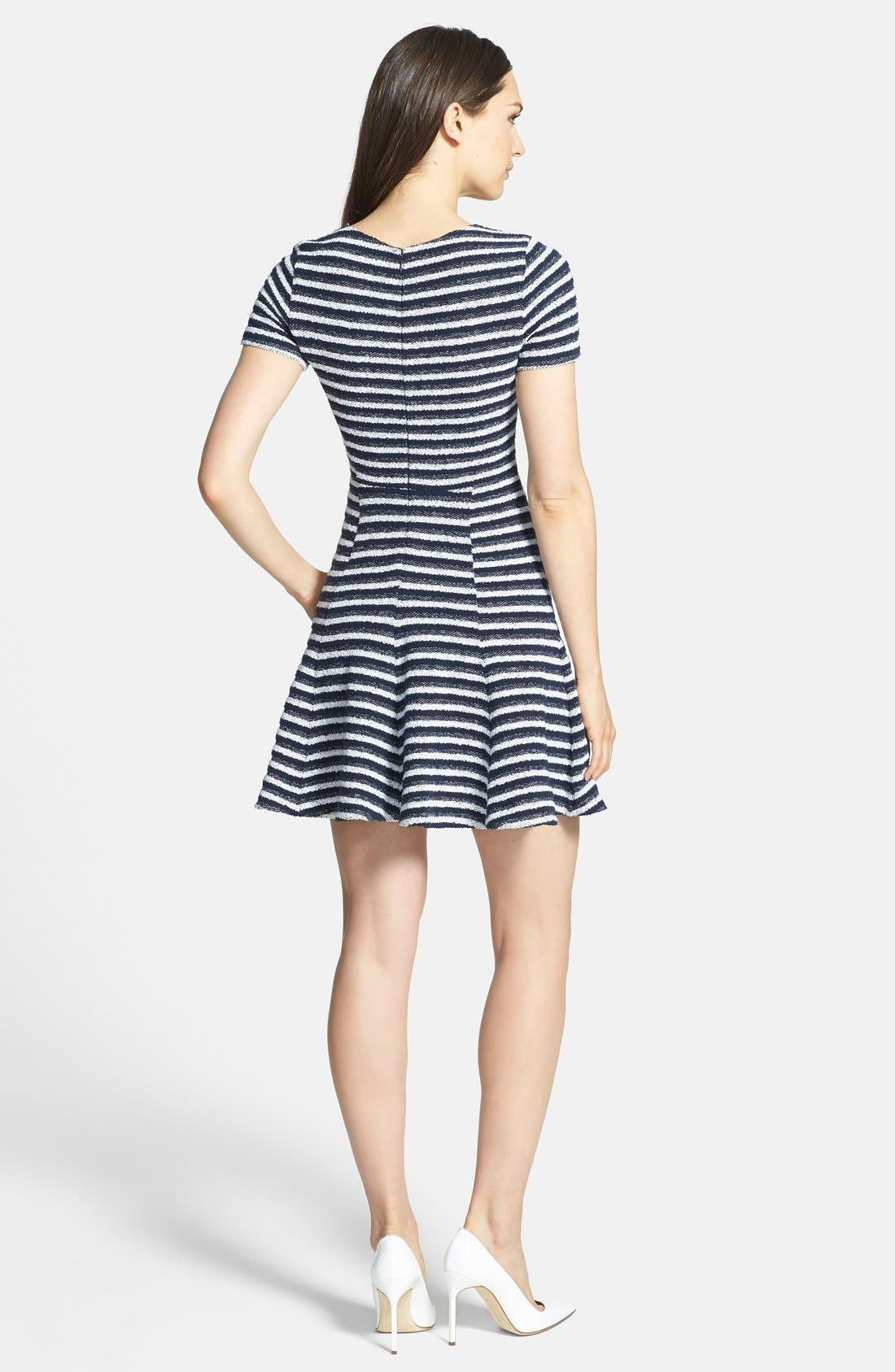 Alternate Image 2  - Theory 'Albita' Bouclé A-Line Dress