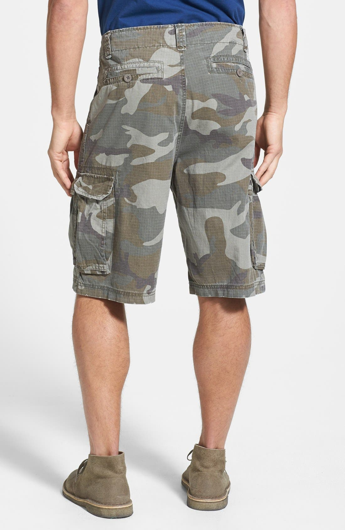 Alternate Image 2  - W.R.K Ripstop Cargo Shorts